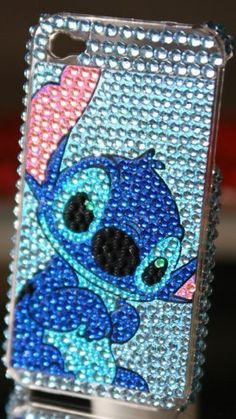 Stitch Logo Rhinestone Bling case for iphone 4G 4S (Full Body) by ezmarket, http://www.amazon.com/dp/B0047L6OVC/ref=cm_sw_r_pi_dp_tAWYpb0P39ZQV