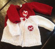 #BakingOutsidetheBox | Easy to knit  Cardigan 18 inch doll  sweater pattern.