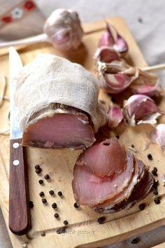 Schab wg Czesława z Wilna Polish Recipes, Smoking Meat, Yummy Snacks, Food Design, Pork Recipes, I Foods, Food Inspiration, Carne, Good Food