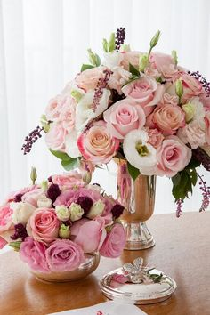 Tons de rosa e branco