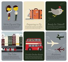 zigzag :: LONDON City Guide. Designed for children