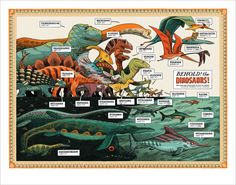 Behold! the DINOSAURS! by Dustin Harbin http://dharbin.bigcartel.com/product/preorder-print-behold-the-dinosaurs