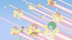 Kawaii second ending Mako chan Original Wallpaper, Hd Wallpaper, Iphone 2g, Macbook Desktop, Kill La Kill, Ipad Mini 3, Blue Wallpapers, Stickers Online, Cover Photos
