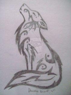 Resultado De Imagen Para Lobo Facil De Dibujar Aprendiendo A