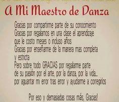 Maestro de Danza