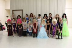 group of beauties...