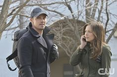 """Beauty and the Beast -- """"Ever After"""" -- Image BB220a_0140 – Pictured (L-R): Jay Ryan as Vincent and Kristin Kreuk as Catherine - Photo: Ben Mark Holzberg/The CW -- © 2014 The CW Network, LLC. All rights reserved."""