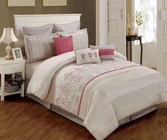 Artistic Linen 8 Piece Paisley Comforter Set, King