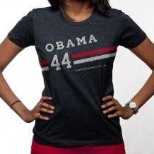 I love his campaign style - even thinking of stealing some of the graphic profile for my wedding stationary. This T-shirt is so cool!