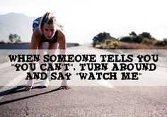 So... watch me