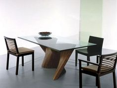 20 Best Modern Glass Dining Table Images Kitchen Dining Tables