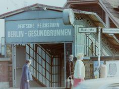 am Bahnhof Gesundbrunnen 60er Jahre
