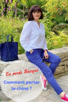 Comment porter le chino ? @blancheporte Converse Rouge, Outfit Sets, My Outfit, Sac Vanessa Bruno, Espadrilles, La Mode Masculine, Sportswear, Outfits, Tops