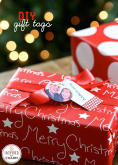 DIY Photo Gift Tags | Inspired by Charm for Stampin' Up