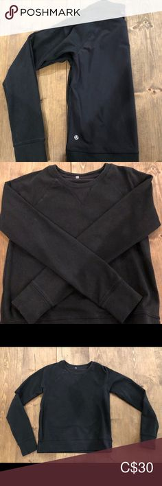 Lululemon long sleeve Lululemon long sleeve in used condition.  Some fading noted from wash and wear as seen in photos.  No staining or pilling.  The back is a lighter material for sweat wicking.   **cat friendly, smoke free home**  Offers welcome lululemon athletica Tops Tees - Long Sleeve Plus Fashion, Fashion Tips, Fashion Trends, Lighter, Lululemon Athletica, Long Sleeve Tees, Super Cute, Smoke Free, Cat