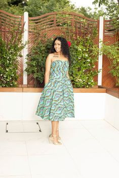 Shop for African midi dresses on We carry wide selection of African style midi dresses for sale at best prices. Best African Dress Designs, Best African Dresses, Latest African Styles, African Fashion Dresses, Strapless Midi Dress, Midi Dresses, Mid Length Dresses, Short Dresses, Business Dresses