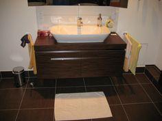 freistehende badewanne und die bodenkonsolen! | badezimmer ideen, Hause ideen