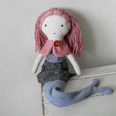 mermaid doll / Břichopas toys