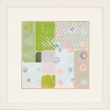 Circus Pattern II Framed Graphic Art