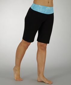 Take a look at this Aquarius Skies the Limit Tummy Control Bermuda Shorts - Women by Marika on #zulily today!