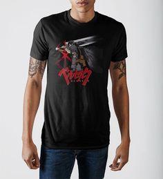 Berserk Black T-Shirt   eBay