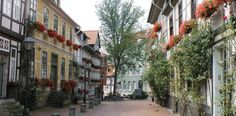 Historische Fachwerkhäuser in Hildesheim