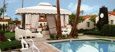 Viceroy Palm Springs poolside cabana