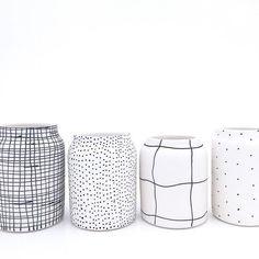 Black&white patterns.