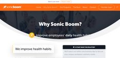 Sonic Boom is a health-tech company that specializes in corporate wellness. Our core focus is social engagement in daily wellness activities (or, as we like to call it outside the boardroom, FUN), shifting entire cultures toward healthier lifestyles. Holistic Wellness, Wellness App, Health And Wellness, Health Care, Wellness Activities, Physical Activities, Employee Wellness Programs, Physical Condition, Sonic Boom