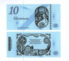 Another community currency in Brazil, part of the Brazilian community development banks network : the Banco Comunitario de Santana do Acarau !