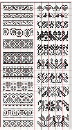 Elegant fair isle knitting patterns no floss numbers, but will be fun to mix and match colors. HUNSCMH - Crochet and Knit , Elegant fair isle knitting patterns no floss numbers, but will be . Fair Isle Knitting Patterns, Fair Isle Pattern, Knitting Charts, Loom Patterns, Knitting Stitches, Crochet Patterns, Knitting Designs, Free Knitting, Knitting Ideas