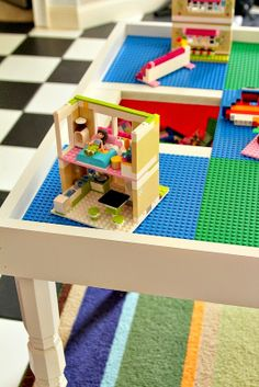 Top This Top That: DIY Lego Table