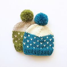 The Bixby Hat features a simple Fair Isle and color-block pattern and is a fun pattern for both beginner and experienced knitters. The pattern is designed on a size continuum ranging from baby to adult, and can be knit in smaller or larger needles to achieve the right size, fit, and style. With the different color combinations you can choose, this hat will become your go-to accessory during the chilly seasons to keep yourself and your loved ones warm and cozy!