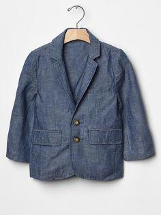 Chambray blazer Product Image