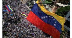 La oposición congregó a miles de personas que colapsaron el municipio Chacao, salvando el boicot chavista Rosa Gubitz, de 68 años, tenía un collarín en el