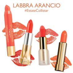 Il segreto per labbra super glamour da sfoggiare nei weekend d'estate? L'arancione! Esalta l'abbronzatura delle pelli più scure e dona subito luce alle carnagioni più chiare!