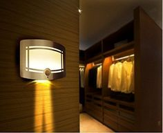[LED Wall Light] OxyLED® Luxury Aluminum Case Wireless Stick Anywhere Bright Motion Sensor Activated LED Wall Sconce Night Light, Auto On/Off, Aluminum, Battery Powered for Hallway, Pathway, Staircase, Garden, Yard, Wall, Drive Way (T-03) OXYLED http://www.amazon.com/dp/B0079TPCIU/ref=cm_sw_r_pi_dp_GLbKvb0NPNXZC