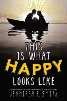 This is What Happy Looks Like by Jennifer E. Smith - After Graham Larkin accidentally sends Ellie O'Neill an email about his pet pig, the two begin a relationship from opposite sides of the country, but their relationship is complicated by the secrets they keep when they meet in-person.