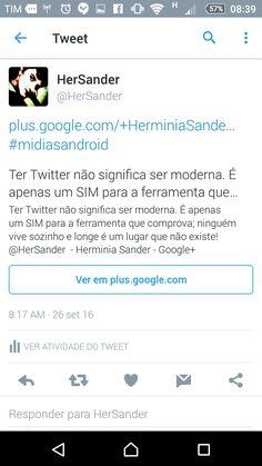 Confira o Tweet de @HerSander: https://twitter.com/HerSander/status/780365558252470272?s=09