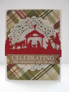 Crafty Girl Designs: Day 8 Holiday Card Inspiration!