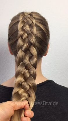 haar opsteken Five strand Dutch braid By: annalovesbraids Easy Hairstyles For Long Hair, Braids For Long Hair, Cool Hairstyles, Protective Hairstyles, Wedding Hairstyles, Latest Hairstyles, Crazy Braids, Unique Braided Hairstyles, Fishtail Hairstyles