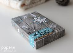 Crafting ideas from Sizzix UK: Mini-album in a box