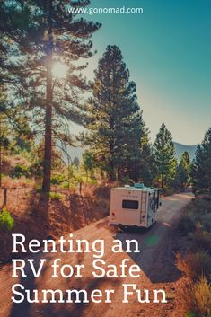 As summer sets in, one style of vacation is still plenty attractive in the midst of a pandemic. RV renting may be even more popular now than in previous summers.#RVshare  #RVsummer #rvlife  #ad Rv Travel, Family Travel, Adventure Travel, Rent Rv, Rv Rental, Summer Set, Rv Life, Travel Inspiration, Camping