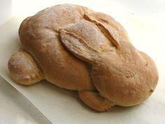 Bunny bread-