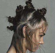 Knot hair x