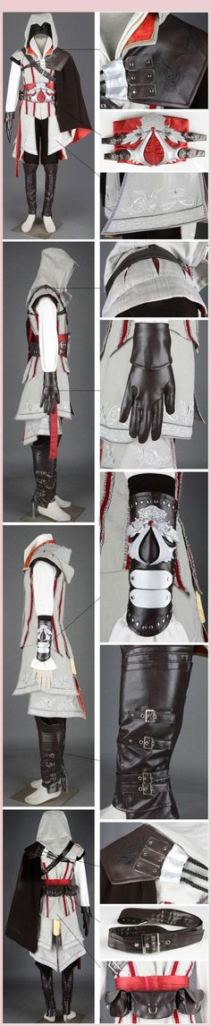 Assassin's Creed II Ezio Assassin Cosplay Costume