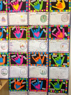 Classroom Fun: School is Cool ~ Back to School Activity AND simple bigger better sentences