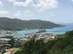 Nearing the end of the first 11 night Disney Fantasy cruise, it arrived in Tortola! Disney Fantasy Cruise, Disney Cruise, Family Cruise, Ship, Vacation, World, Water, Travel, Outdoor
