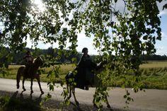 Hämeen keskiaikamarkkinat - Häme Medieval Faire 2008, Ratsastus - Riding, © Timo Martola