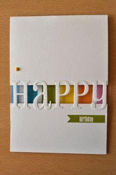 ▷ 1001 + ideas on how to design birthday cards yourself- ▷ 1001 + Ideen, wie Sie Geburtstagskarten selber gestalten Birthday card made of strong white paper - Handmade Birthday Cards, Happy Birthday Cards, Greeting Cards Handmade, Diy Birthday, Mens Birthday Cards, Cards For Men Handmade, Birthday Nephew, Unique Birthday Cards, Personalised Cards